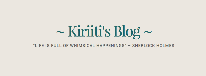 Interview de Kiriiti's Blog