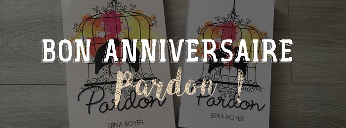 Premier anniversaire de 'Pardon' !