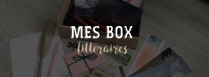 Mes box littéraires