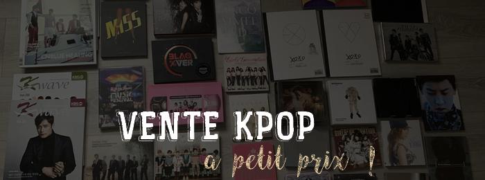 Vente k-pop