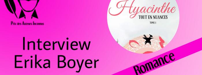 Interview : Erika Boyer
